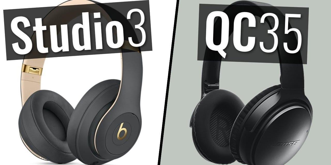 Bose Quiet Comfort 35 ii vs. Beats Studio 3 Review