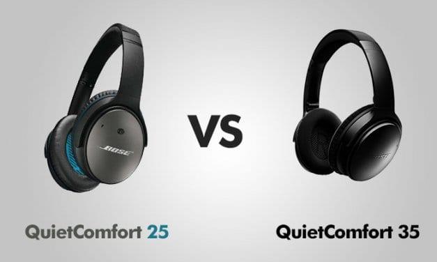 Bose QC 35 ii vs. Bose QC 25 Review